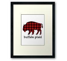 Buffalo Plaid Framed Print