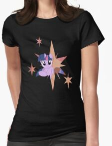 Twilight Sparkle Stars Womens Fitted T-Shirt