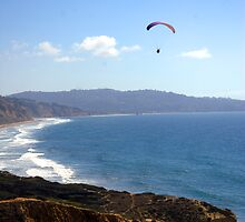 Hang Glider - Torrey Pine by Frank J Kelly