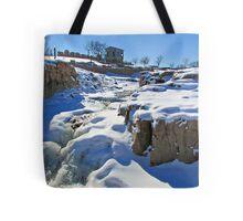Snowy Falls Tote Bag