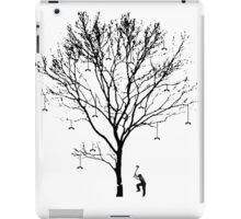 Chopping Down the Phone Tree (no text) iPad Case/Skin