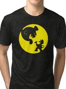 Luigi's Moonlight Shadows Tri-blend T-Shirt