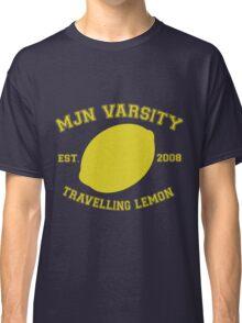MJN Varsity- Travelling Lemon Classic T-Shirt