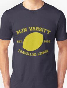MJN Varsity- Travelling Lemon Unisex T-Shirt