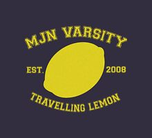MJN Varsity- Travelling Lemon Womens Fitted T-Shirt