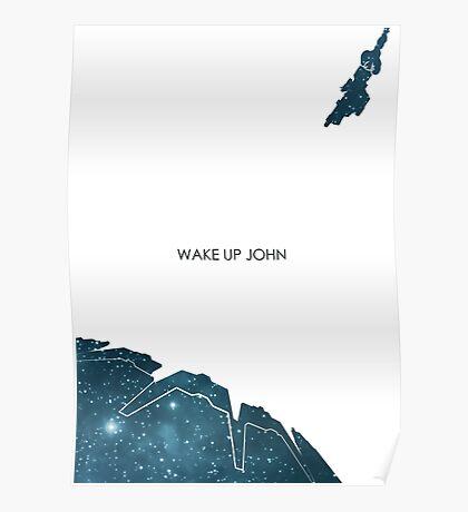 Wake Up John Poster