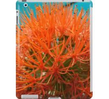 Orange Flower 1 iPad Case/Skin