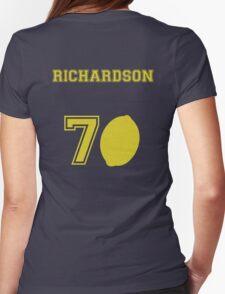 Douglas Richardson- Travelling Lemon Jersey Womens Fitted T-Shirt