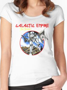 Empire Galactic Darklord Women's Fitted Scoop T-Shirt