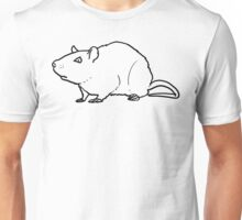 Angry Rat (no text) Unisex T-Shirt