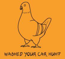 Pooping Pigeon T-Shirt