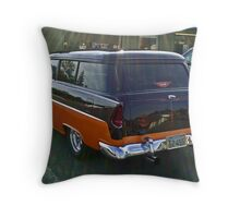 At The Diner Throw Pillow