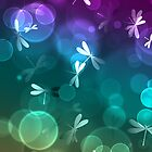 Dragonflies and Bokeh by mgraph