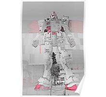 Gundam Red Poster