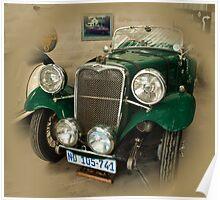 Singer Le Mans  1934 Poster
