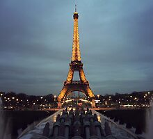 Eiffel Tower - Paris, France by Megan Schatzman