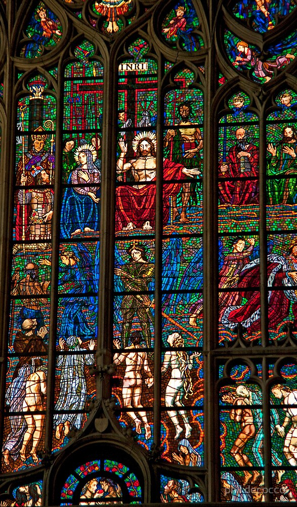 Biblical Art In Stained glass by phil decocco