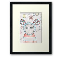 It's OK - I Find It Hard Framed Print
