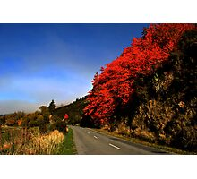 red hills Photographic Print