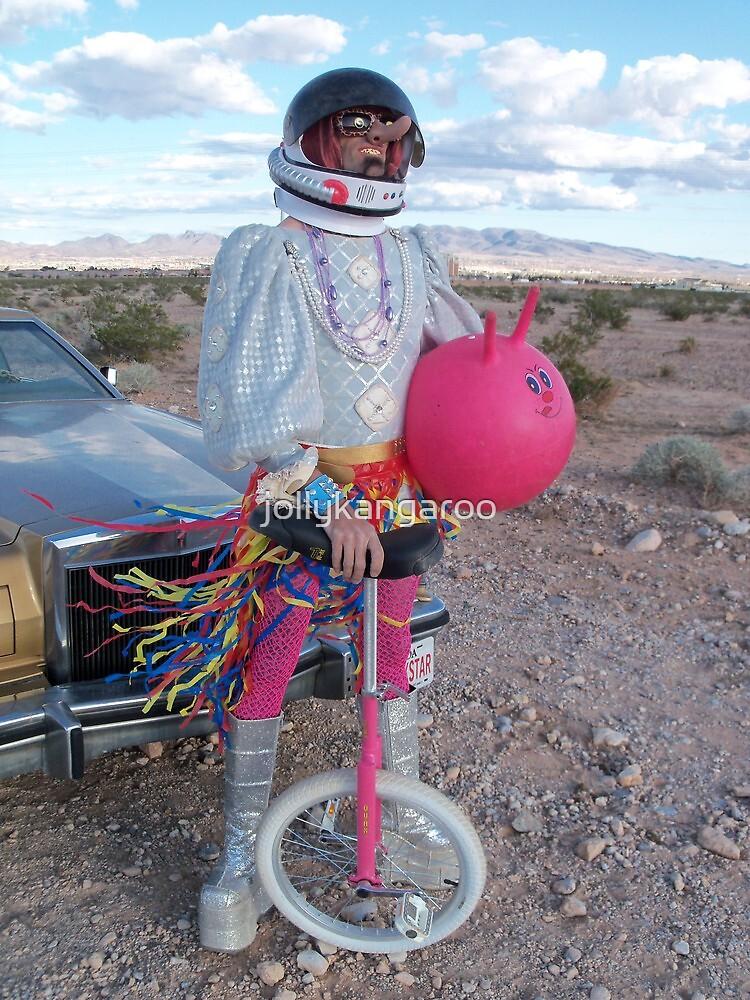 Astro Space Hopper Man by jollykangaroo