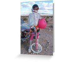 Astro Space Hopper Man Greeting Card