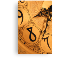 8 O'Clock Shadow Canvas Print