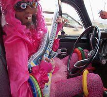 Pink Pansy by jollykangaroo