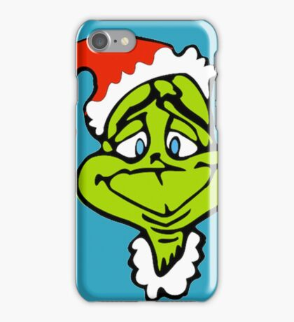 Santa The Grinch Christmas iPhone Case/Skin