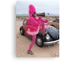 Pink Punce Canvas Print