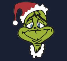 Santa The Grinch Christmas One Piece - Short Sleeve