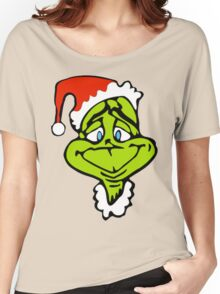 Santa The Grinch Christmas Women's Relaxed Fit T-Shirt