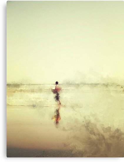 IMPRESSION - SOUL SURFER  by Laura E  Shafer