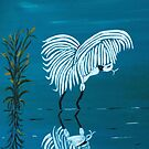 White Egret by Dawn B Davies-McIninch