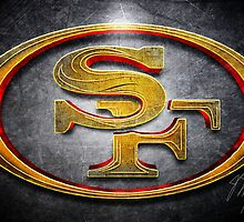 San Francisco 49ers - Men of Gold Emblem by BronzeKnight