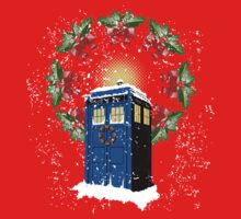 A WARM & COMFORTABLE TARDIS IN THE SNOWSTORM  Baby Tee