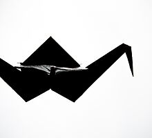 Paper stork by Salmonstudio