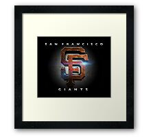 SF Giants MOS Framed Print