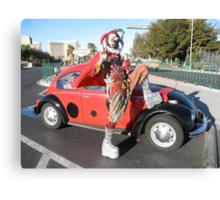 Jester in Vegas Canvas Print