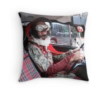 Jester Driving Throw Pillow