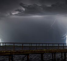 Kwinana Lightning by Glen  Robinson