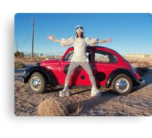 Quirky Man Canvas Print