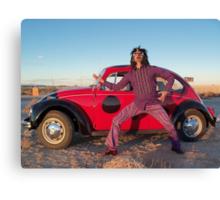Rocker in the Desert Canvas Print