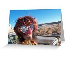 Spiral Eyes Greeting Card
