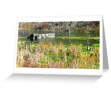 Sunken Barn Greeting Card