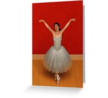 The Joy of Ballet Greeting Card