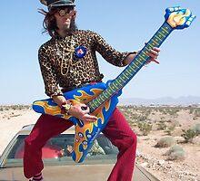 Air Guitarist by jollykangaroo