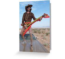 Leopard Rocker Greeting Card