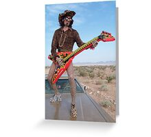 Leopard Rocker Greeting Card