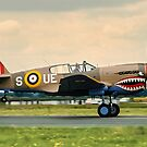 Curtiss P-40E Kittyhawk Ia N94466 AK933/UE-S &quot;Sneak Attack&quot; by Colin Smedley