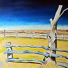 Outback Gumtree by gillsart